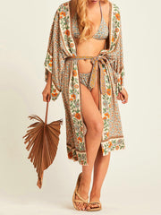 Crazy Feelings Cotton Gown Kimono Robe
