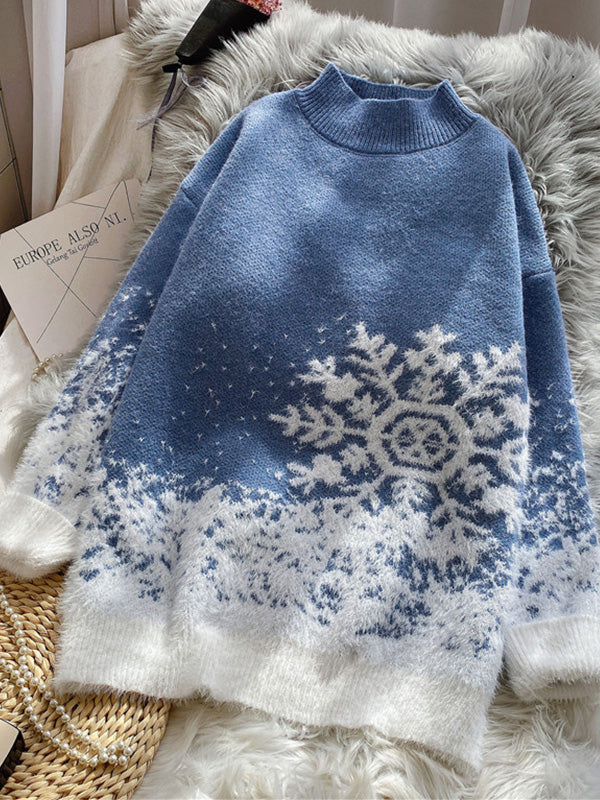 Snow Falling For Me Christmas Sweater
