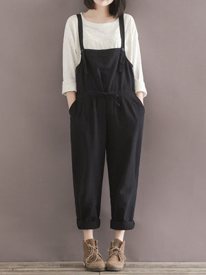 Beauty Black Overall Dungarees