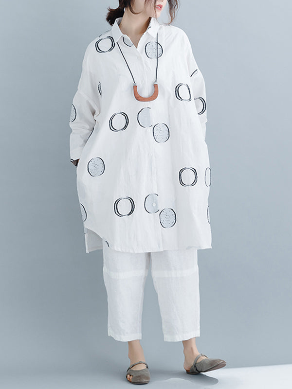 Eilidh Seeds Scatter Shirt Dress