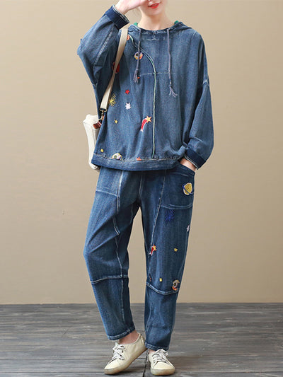 Something Different Denim Cotton Co-Ords