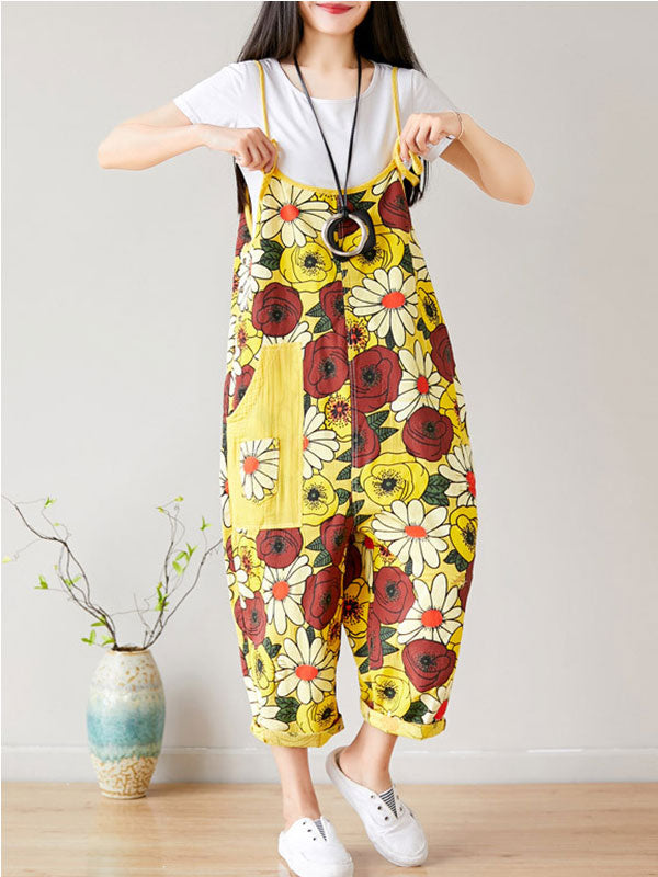 Farmer's Blossom Overall Dungarees