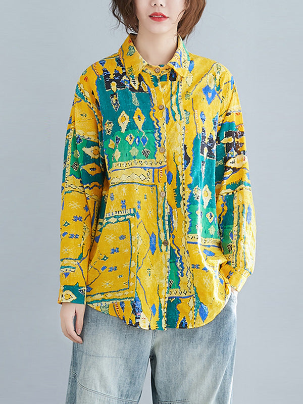 Bloom Again Linen Shirt