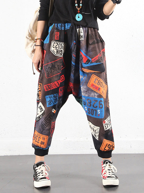 Licence Printed Trouser Pants