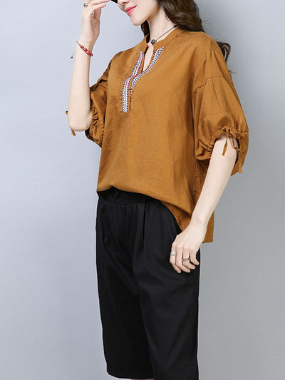 Able Staple Cotton Tunic T-Shirt Top