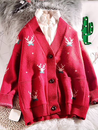 Reindeer Attitude Christmas Sweater