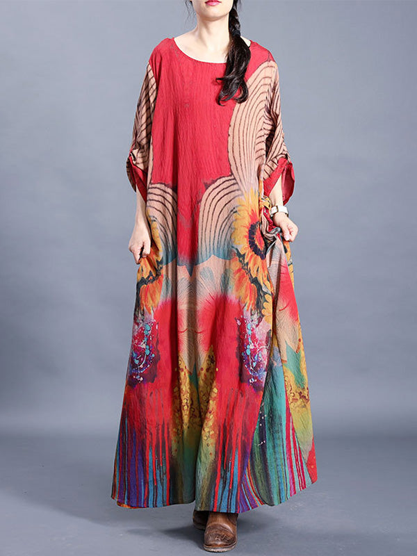 The Esmerelda Silk Maxi Dress