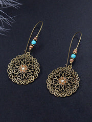 Flowering Sun Dangle Earrings