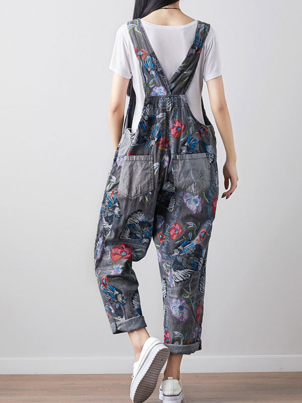 As Darling Does Cotton Overalls