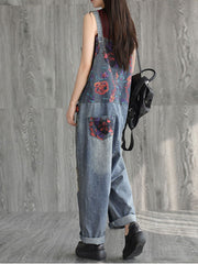 Alexandria Baggy Style Cotton Overalls Dungaree