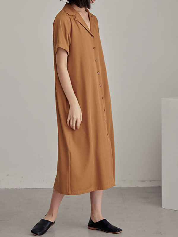 Weekend Wandering Shirt Dress