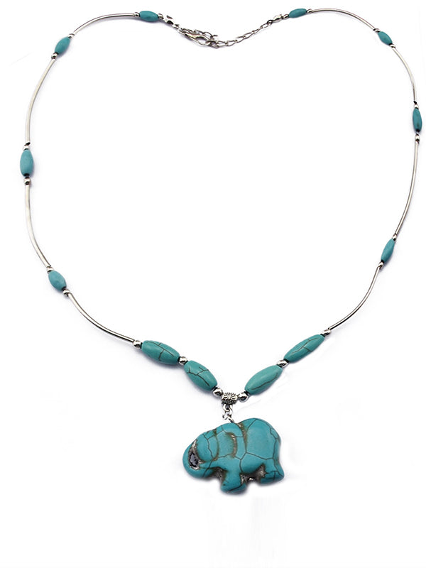 Elephant Power Necklace