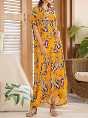 Elegance Ditso Kaftan Maxi Dress