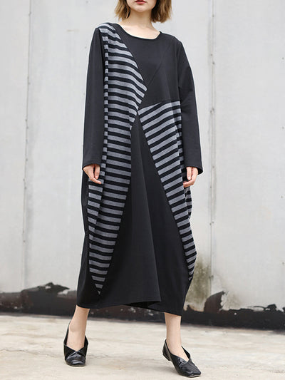 Reckless Stripes Maxi Dress