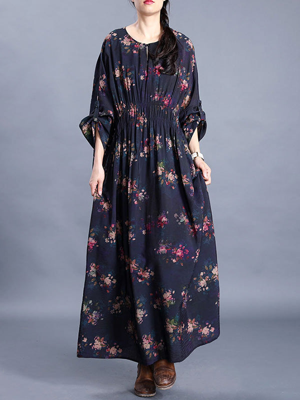 Take A Risk Silk Maxi Dress
