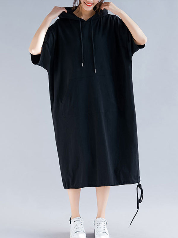 Hadley Hodded Midi Dress
