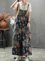 Winning Addition Wide-Leg Jumpsuit Overalls