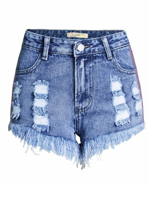 Glitter Stripe Shorts