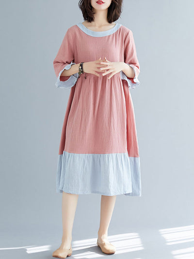 Befits Your Brilliance Cotton Smock Dress