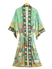 Enlighten Me More Gown Cotton Robe