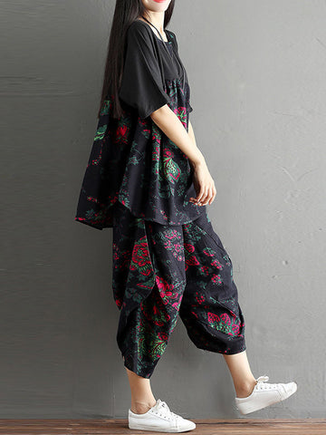 Vibrant Hues Pajama Dress