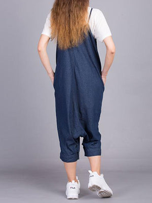 Hip-Hop Overall Strap Dungarees