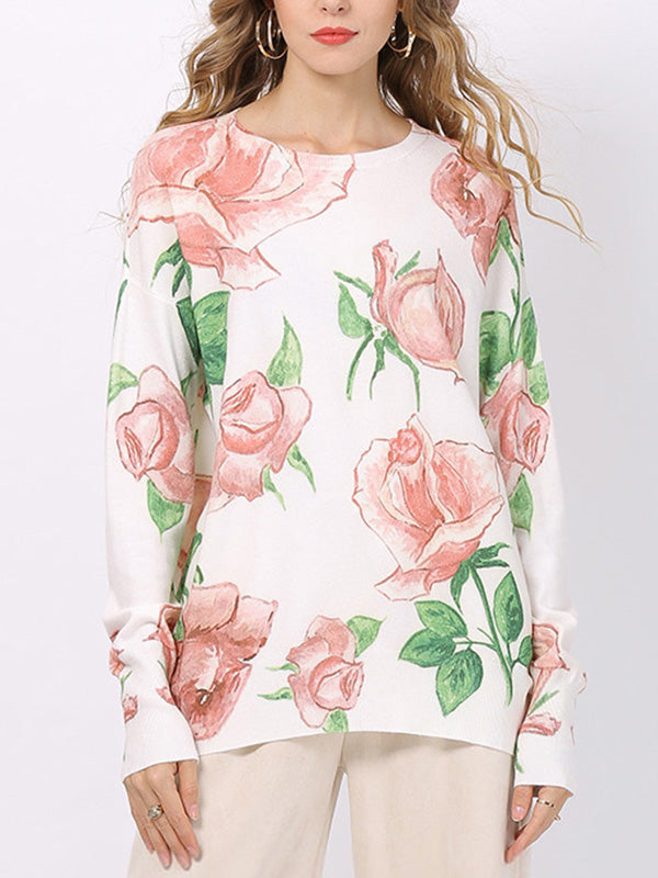 Rose Is My Flower Scoop-Neck T-Shirt
