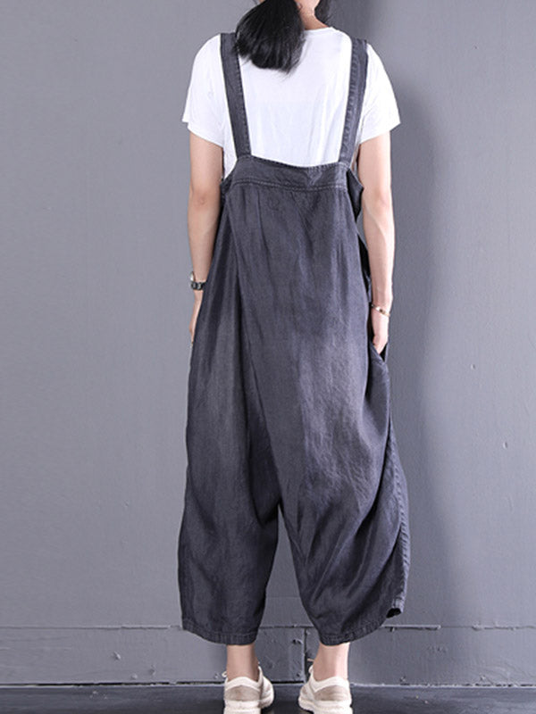 Vacay Vibes Overall Dungarees