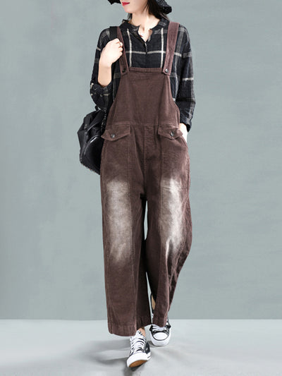Celeste Cotton Literary Overall Dungarees