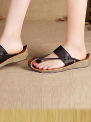 Tipsy Leather Sandals