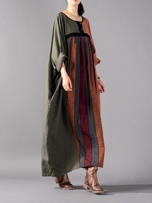 Midnight Tales Maxi Dress