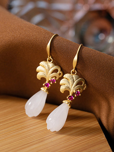 Natural Notion Drop Earrings