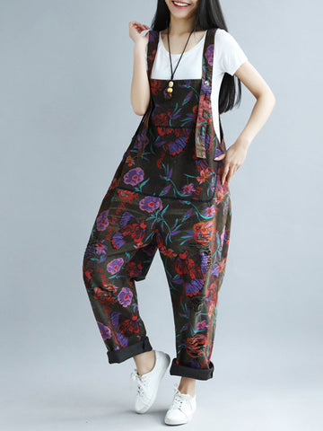 Flower Shop Overall Dungaree