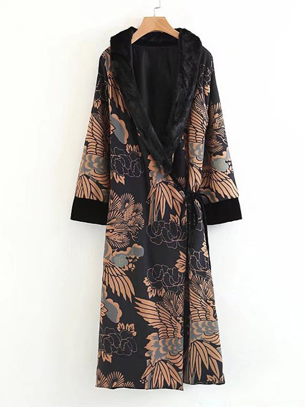 Seems Feather Gown Robe