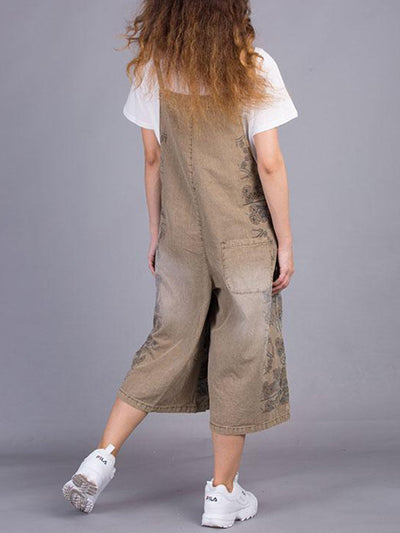 Frizzy Fret Overall Dungarees