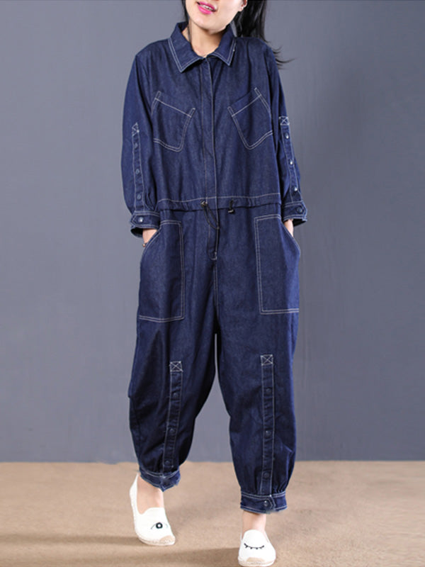Definitely Denim Overalls Jumpsuit