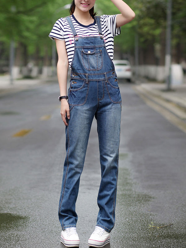 Alice Denim Overalls