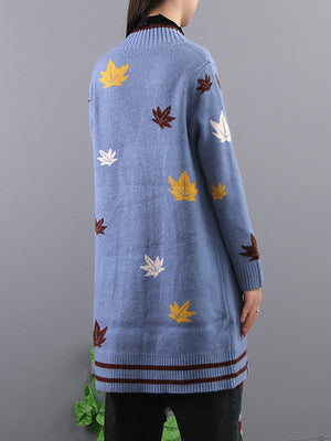 Fall Leaves Cardigan