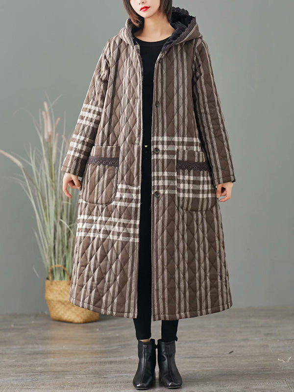 Bold and Fierce Reversible Cotton Coat