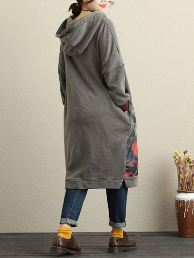 Pick Love Hooded Dress