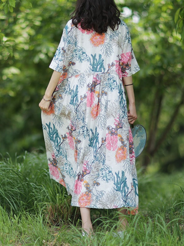 Informed Ensemble Smock Dress