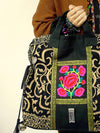 Vintage Embroidered Handbag