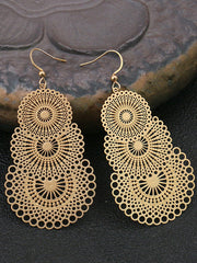 Party on Top Dangle Earrings