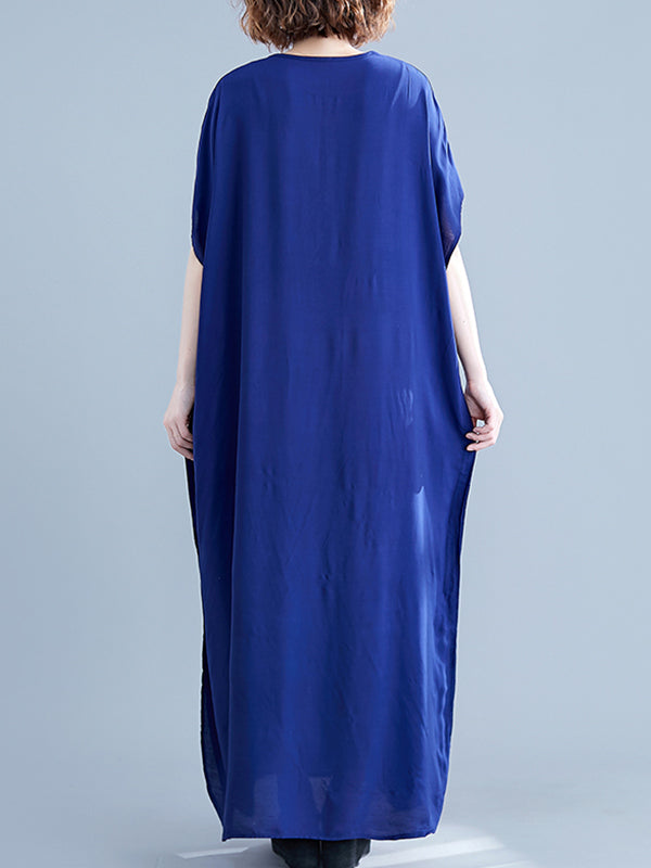 Far-Out & Fabulous Kaftan Maxi Dress