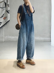 Caught Up you in Denim Overall Dungaree