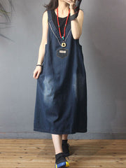 Have It All Overall Midi Dress