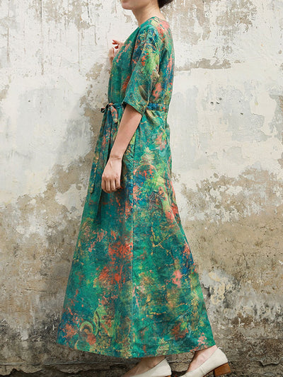 Boundless Enjoyment Maxi Dress