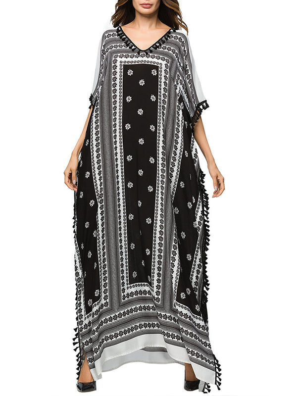 Night Heaven Kaftan Dress