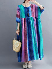 Color Madness Smock Dress