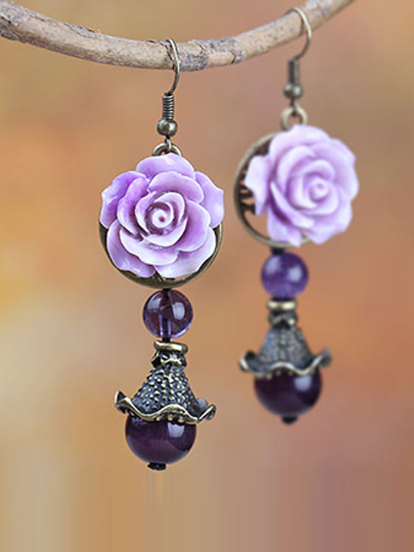 Bloom Flower Earrings
